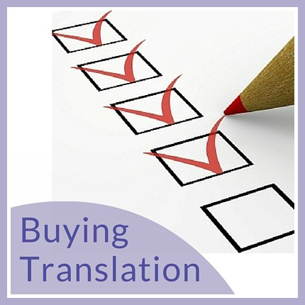 Tips on buying translation